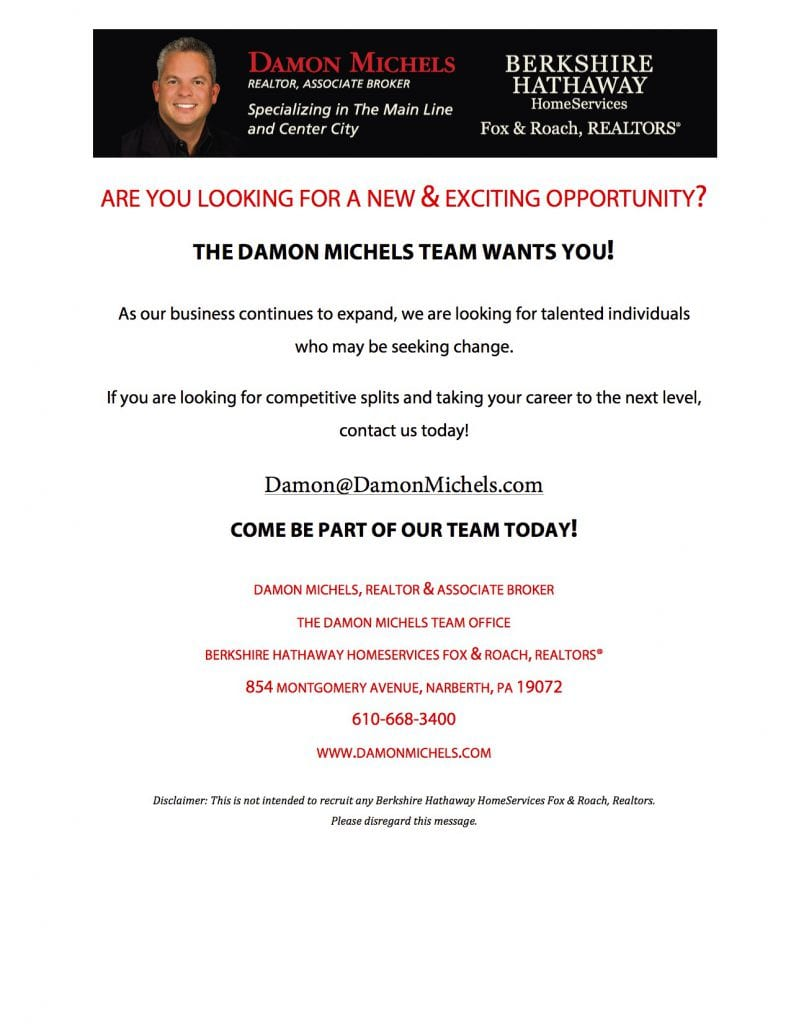 damon michels is hiring
