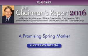 Chairman's Report - Spring 2016